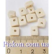 Бусины Фигурные (диаметр-9х7 мм , диаметр отверстия-3 мм)