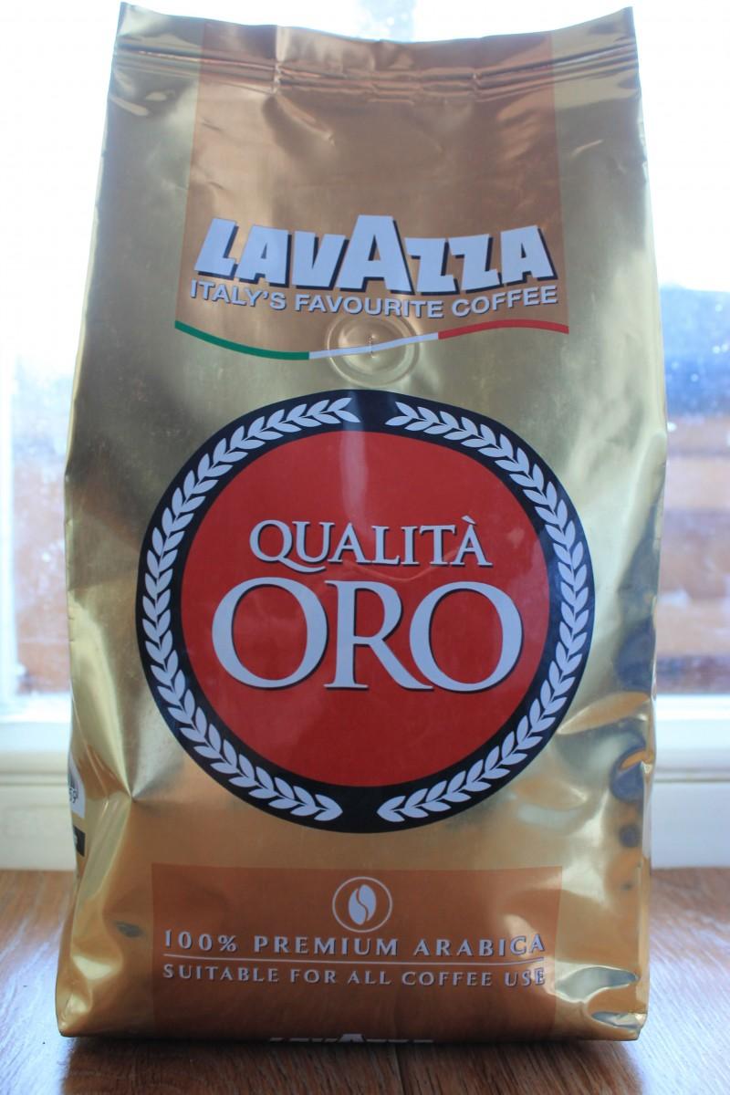 Lavazza Qualita Oro, зерно.