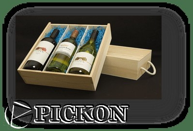 Деревянная упаковка цена, для вина, с перегородками на три бутылки