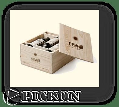 деревянный ящик для вина без фурнитуры на 12 бутылок