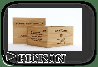 деревянный ящик для вина на 12 бутылок