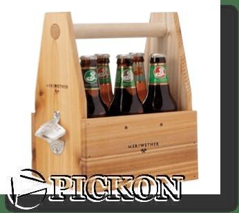 Пивная переноска кол-во бутылок - 6шт (модель P5(6))