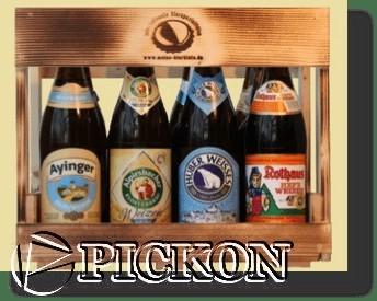 Ящики для пива кол-во бутылок - 4шт (модель Y14(4))