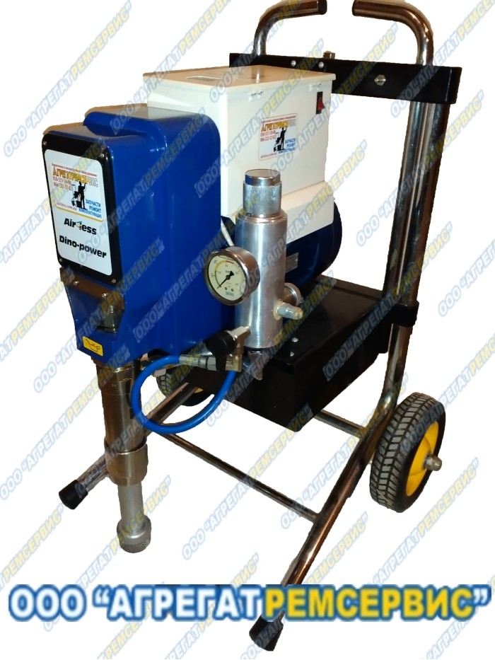 Поршневой окрасочный аппарат для вязких составов DP-6880