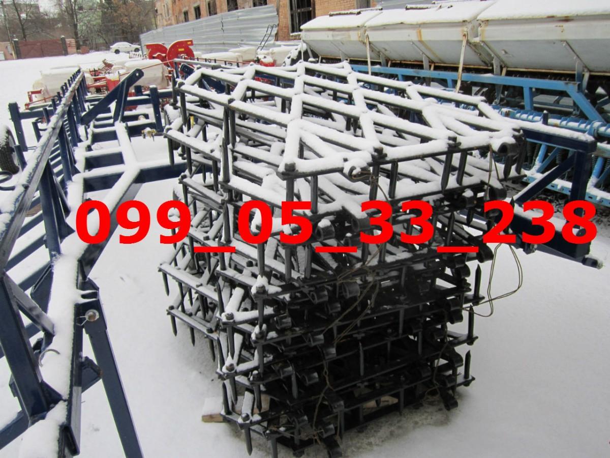 БЗСТ-1 борона ЗУБОВАЯ (44,7кг) тяжелая!!!