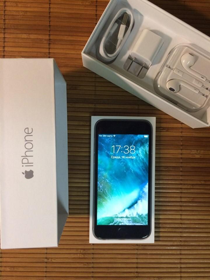 Оригинальный (не Refurbished) Apple iPhone 6