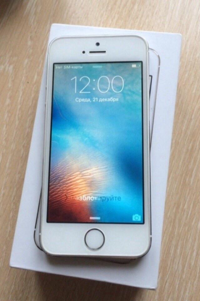 iPhone 5s 16gb Silver Neverlock