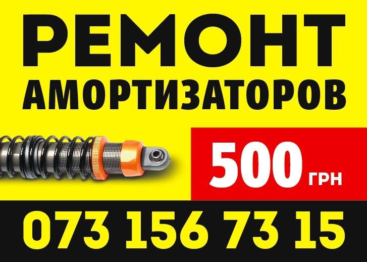 Ремонт-реставрация (АМОРТИЗАТОРОВ)
