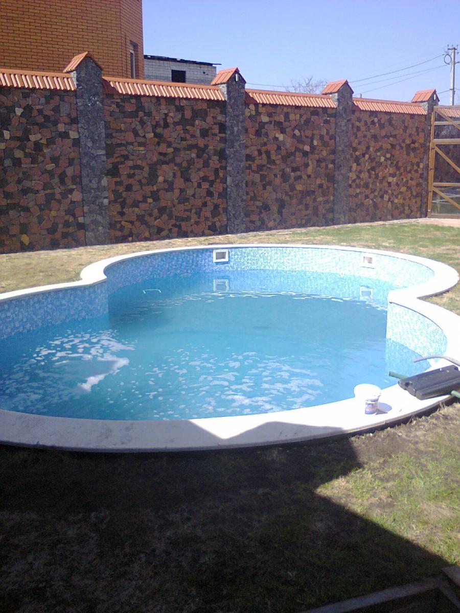 Строительство бассейнов,фонтанов,водоемов.