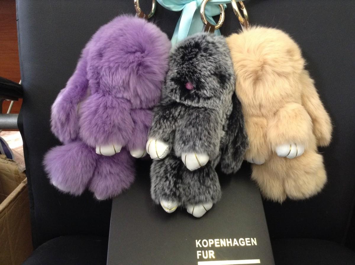 Натуральные меховые зайцы Kopenhagen Fur