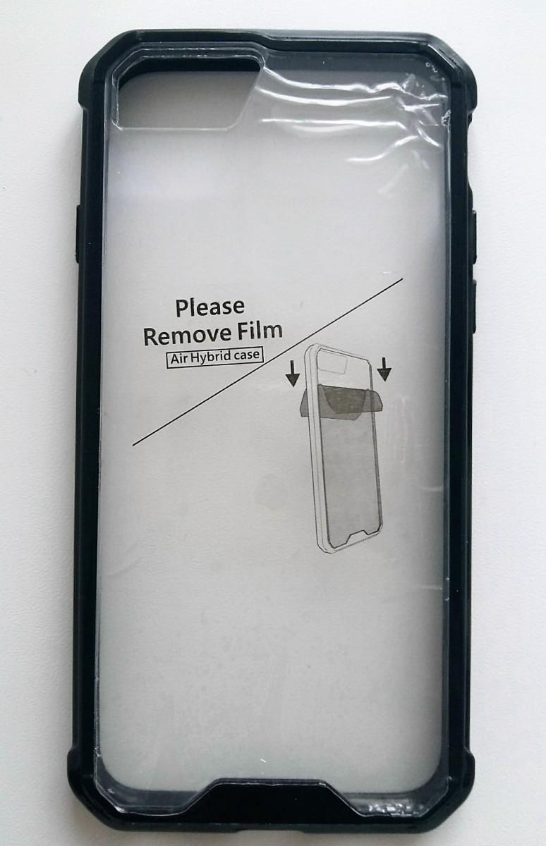 Продам чехол бампер для Iphone 7 прозрачный пластик + прочная рамка с противоударными углами.