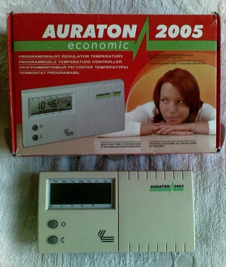 Продам терморегулятор (термостат) Auraton 2005