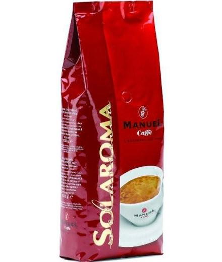 Кофе в зернах Manuel Solaroma 1000 г.