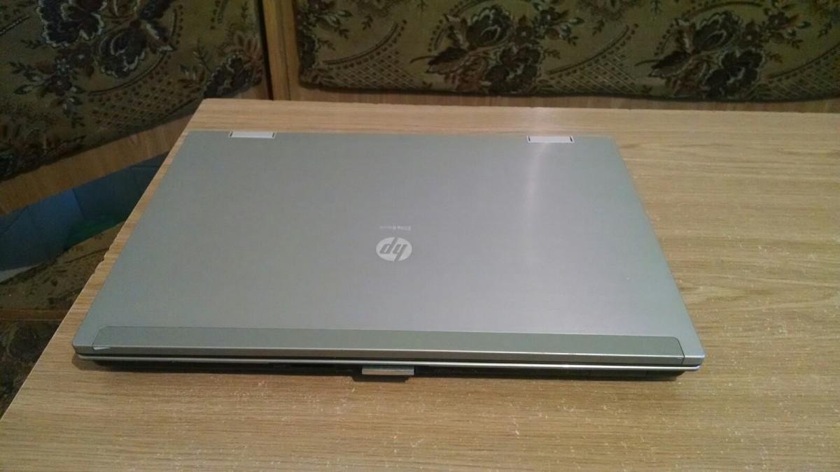 """HP EliteBook 8540p, 15,6"""" (1600x900), Intel i7-620M, Nvidia Quadro 5100M (1GB), 4-8GB, 250GB HDD / SSD. Апгрейд"""