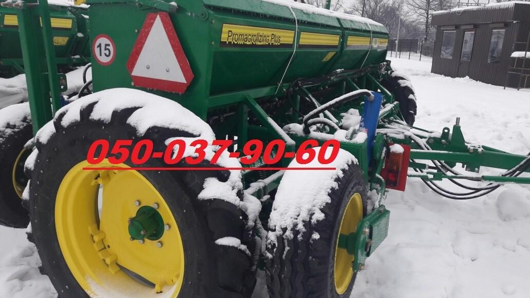 Зернова механічна сівалка Harvest 420 (зустрічайте новинку) Ширина - 4,2 м. Двудисковий сошник Bellota 28 шт., транспортний пристрій, маркерна система