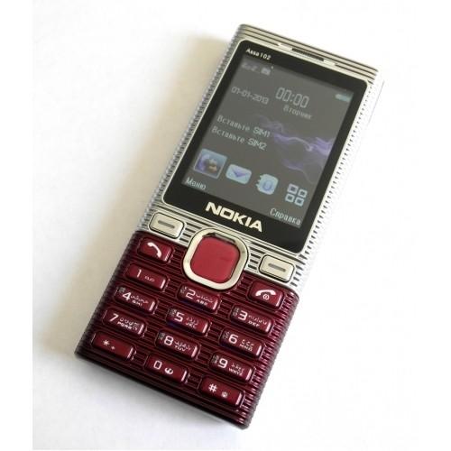 Nokia Asha 102 2,6'' 2Sim Металл