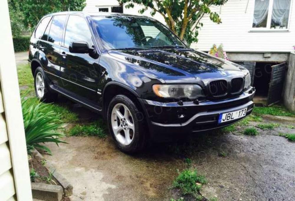 BMW X5 E53 I 2002г.