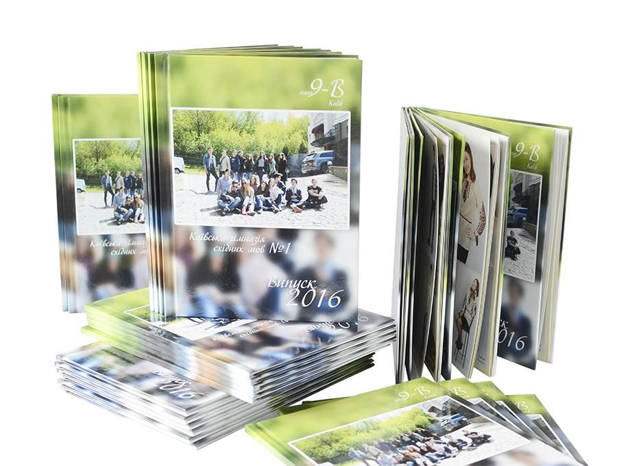 Выпускной альбом/фотокнига для 9-11 класса школы