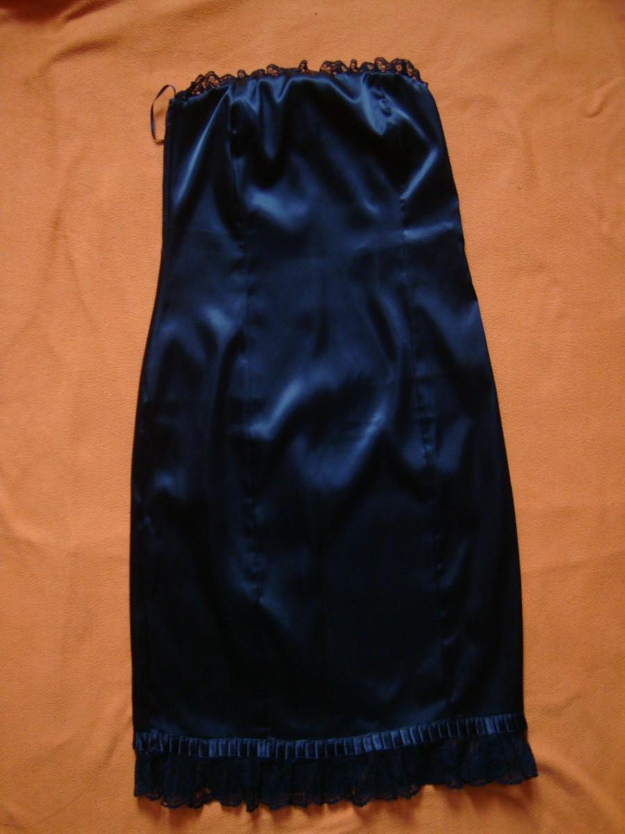 Платье черное 38-XXS-32