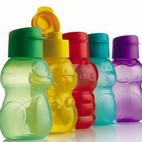 Детские эко-бутылочки 350 мл в форме забавных зверушек от Tupperware