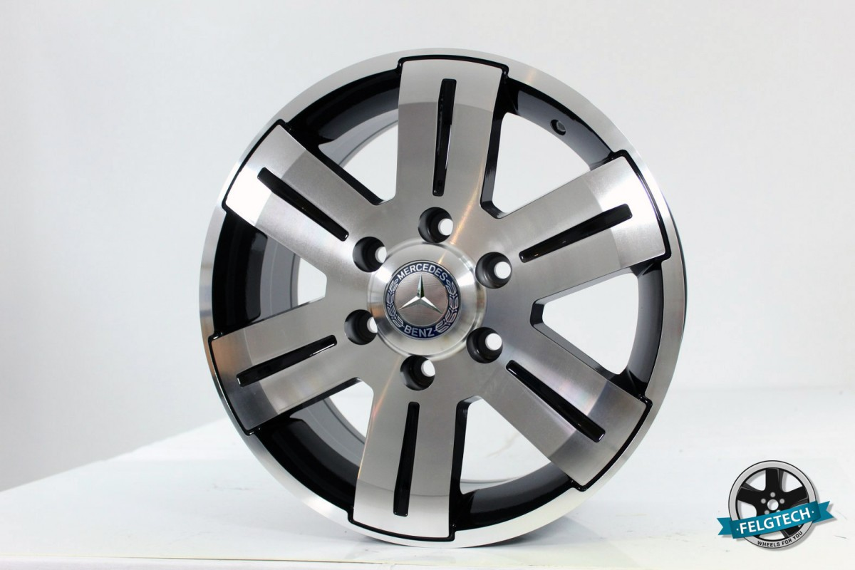 Новые диски R16 6x130 на Mercedes Sprinter VW Crafter Volkswagen