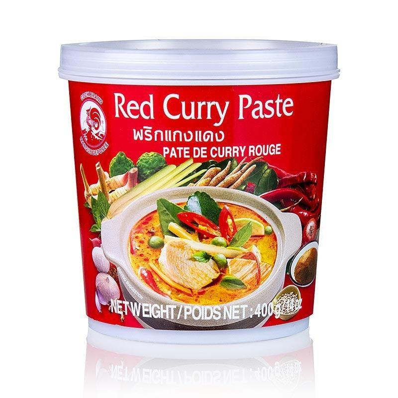 Паста красный карри Red Curry 2 вида