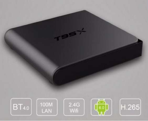 T95X 2g / 8g Sunvell android 6.0 tv box smart андроид смарт тв приставка для телевизора 4K