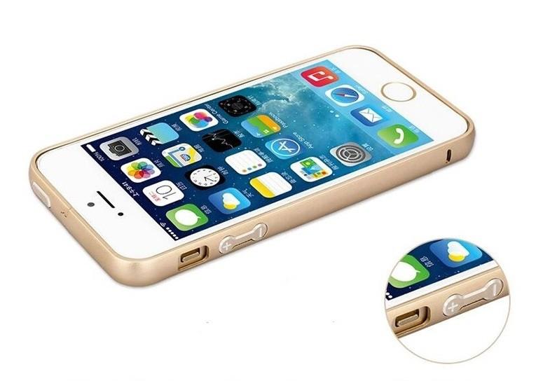 чехол iPhone 4 4s 5 5s se 6 6s 6+ 6s+ алюминий