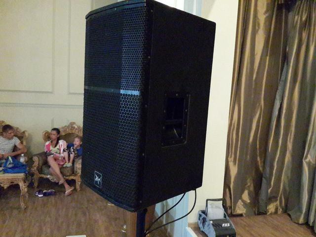 Супер цена на такую мощь! Активная акустика Park audio NW 715 P