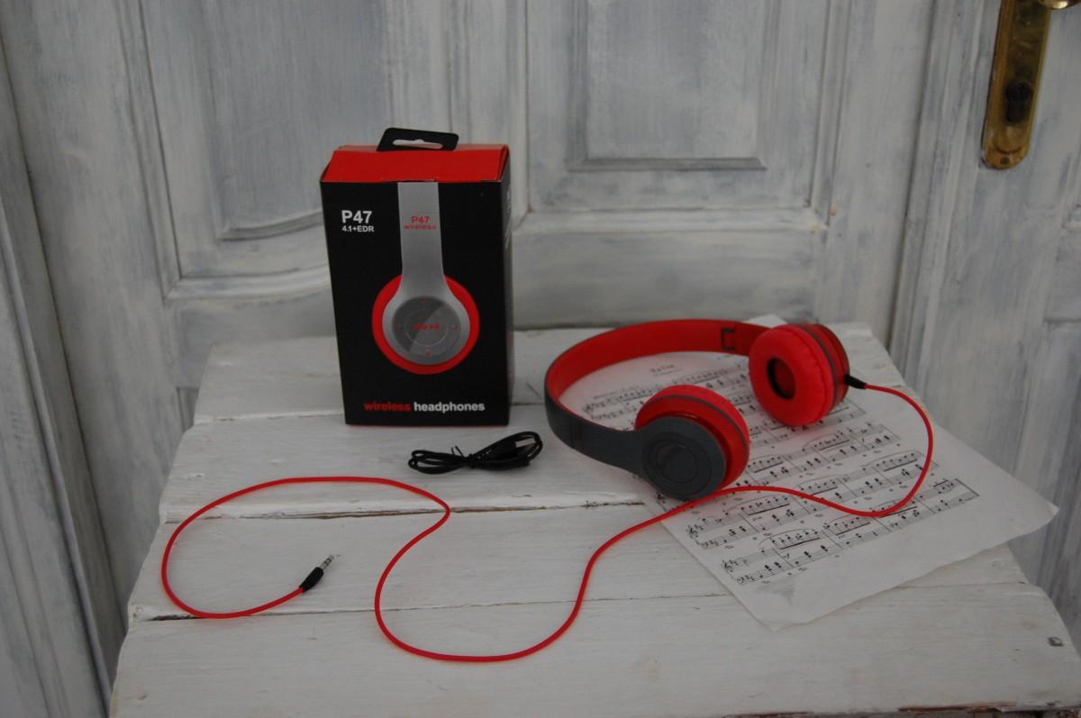 Bluetooth наушники Wireless P47