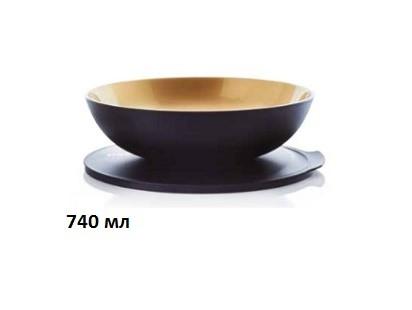 Чаша «Аллегро» (740 мл) в цвете «античное золото»