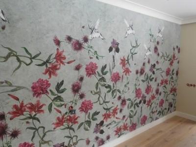 Покраска стен и потолков. Шпаклевка. Монтаж багета. Поклейка любых видов обоев.