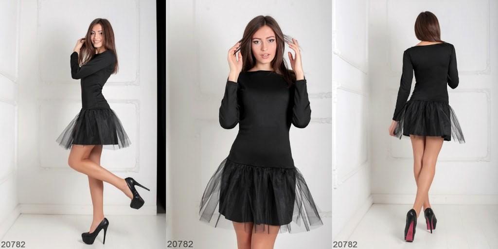 Эффектное красивое платье!