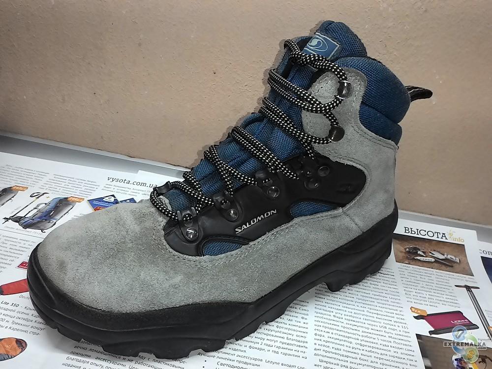 Salomon 39eur 5,5uk 7us 245mm трекинговые мембранные ботинки**
