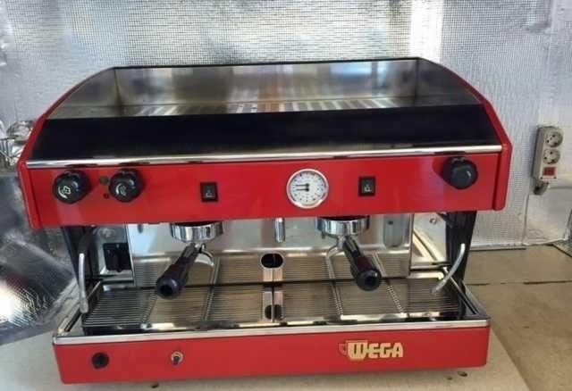Профессиональная кофемашина (кофеварка) Wega atlas Газ