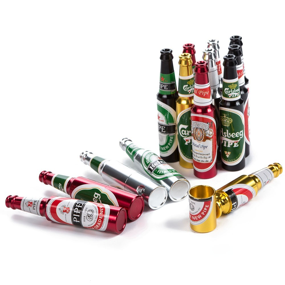 Трубка курительная «Пиво» + набор сеточек в подарок!!!