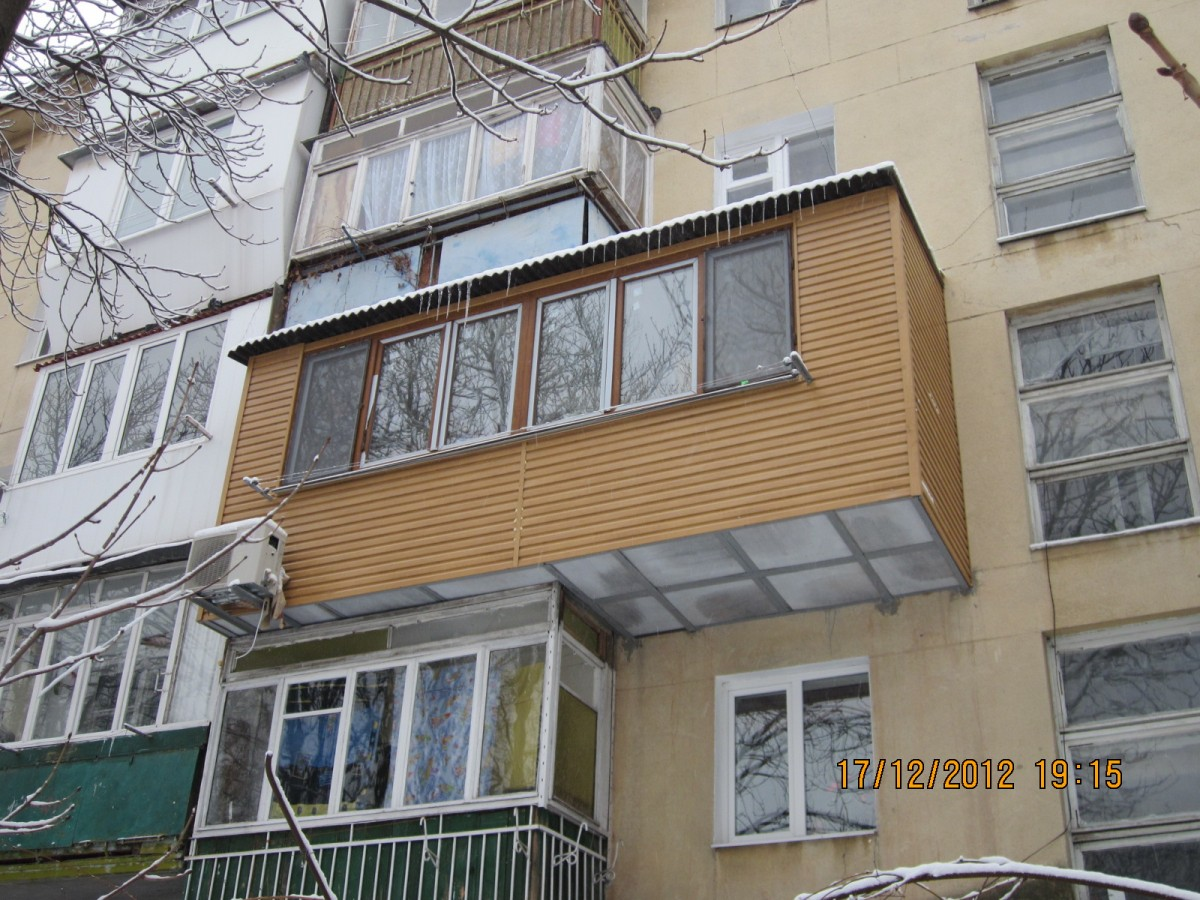 Расширение и ремонт балкона в харькове: договорная - бизнес .