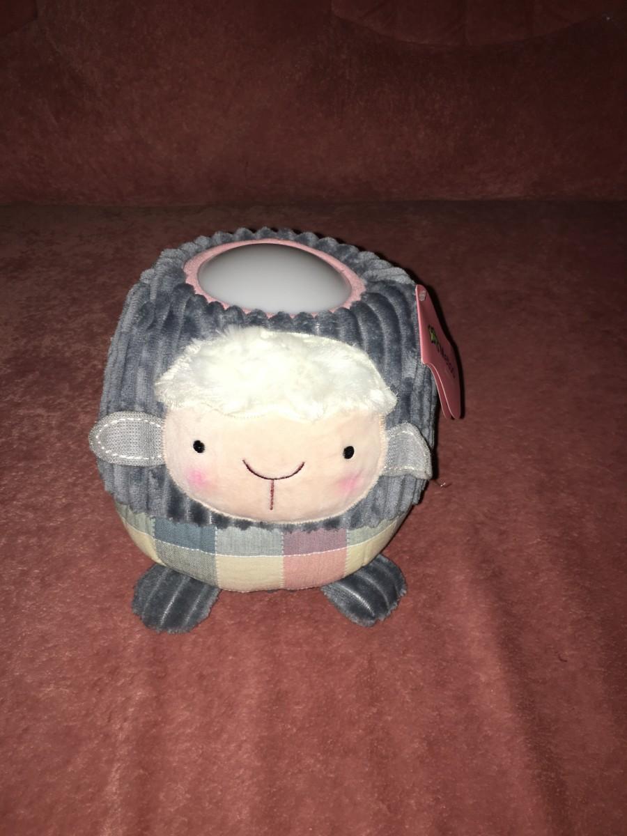Плюшевый ночник прикроватная лампа MeToo для детей