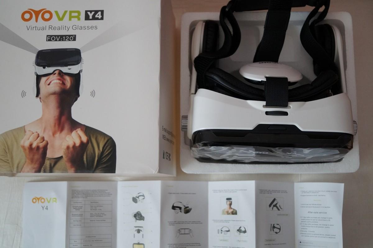 VR Glass 3D шлем-очки виртуальной реальности с наушниками