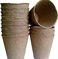 Торфяной стаканчик, 60*60 мм