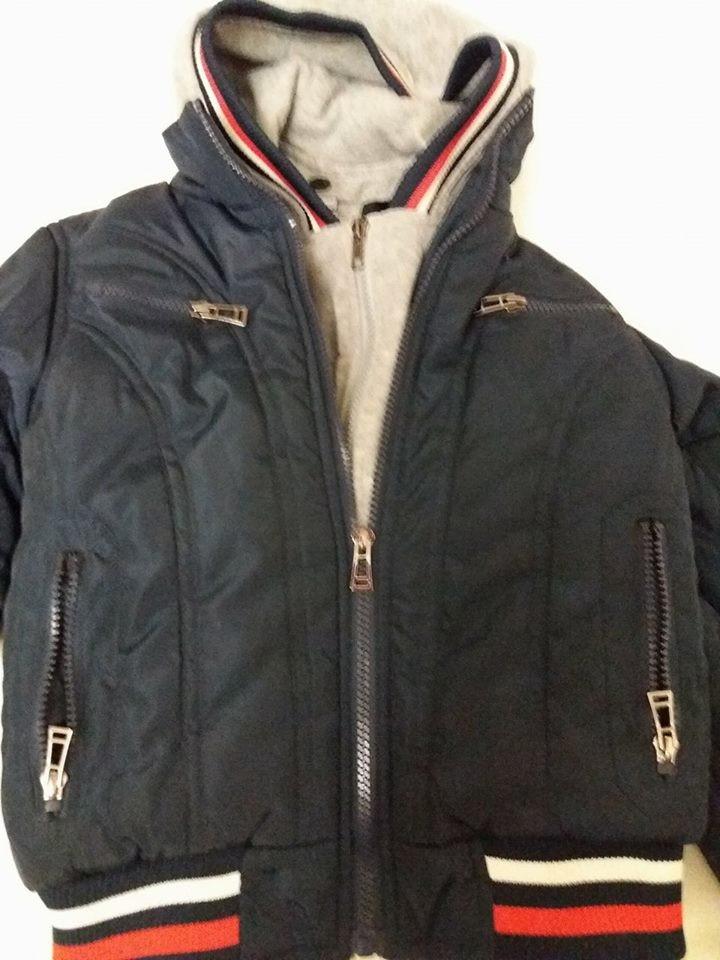 Теплая демисезонная курточка Grace для мальчика