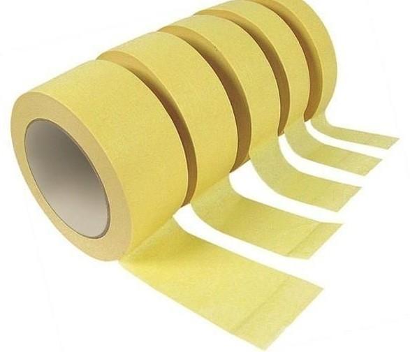 Малярная лента 48х20м (желтого цвета)
