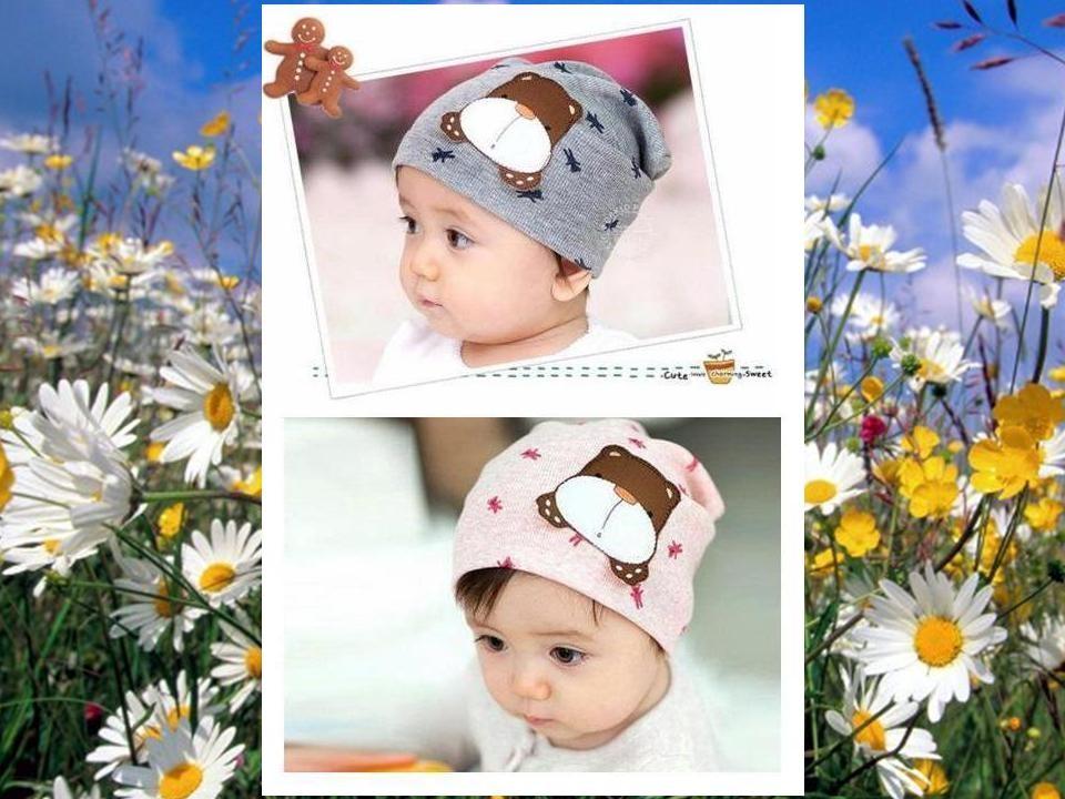 Детская шапка, серая, нежно розовая с Собачкой