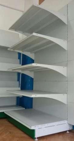Торговое оборудование металлические полочные торговые стеллажи бу