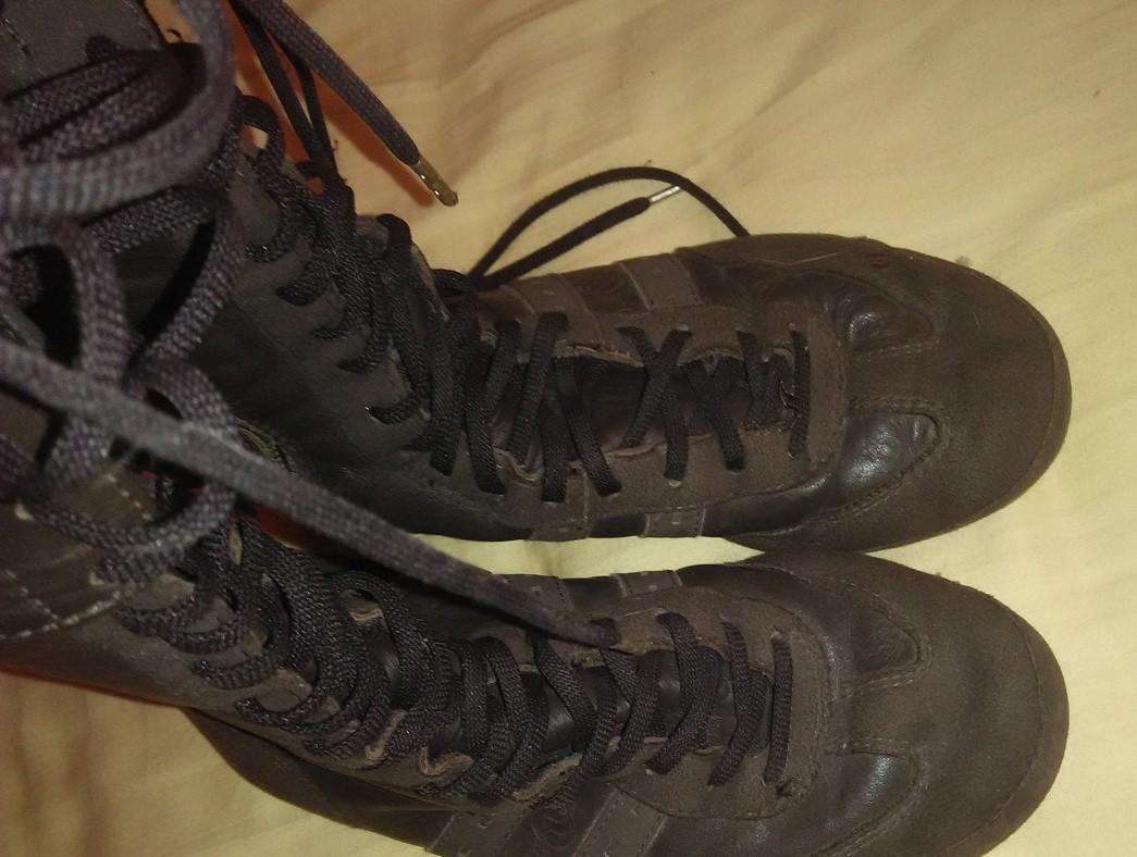 Ботинки ботфотры кожа 24,5 см по стельке