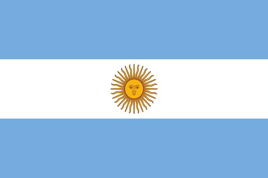 Флаг Аргентины / аргентинский 150*90 см,интернет-магазин флагов стран мира, организаций, штатов