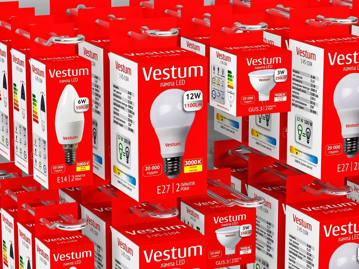 Светодиодные лампы Vestum LED, Prosto LED
