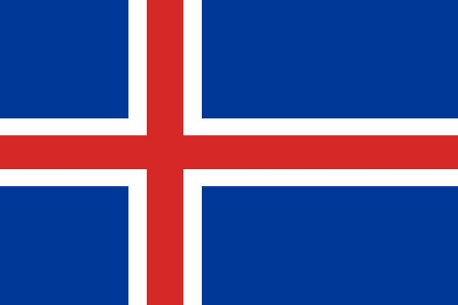 Флаг Исландии / Исландия / исландский 150х90 см, интернет-магазин флагов стран мира