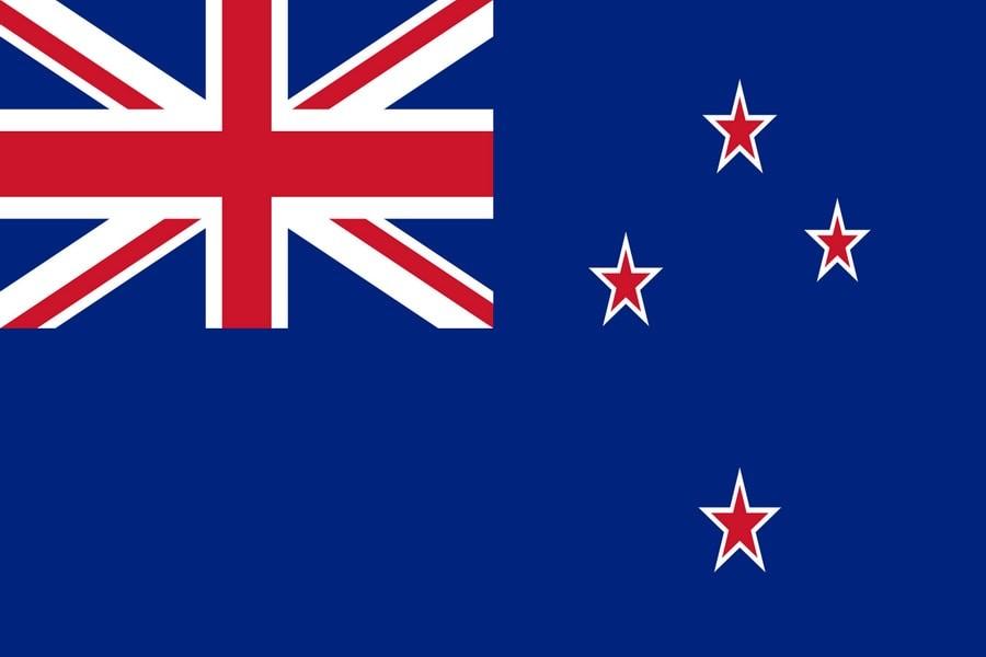 Флаг Новой зеландии / новозеландский 150 на 90 см, интернет-магазин флагов