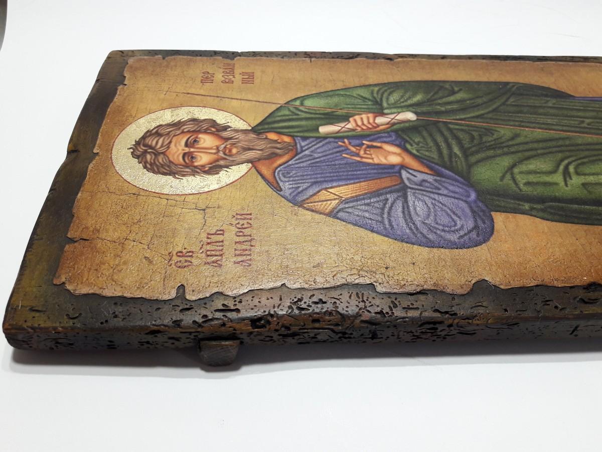 Купить Икону Андрея Первозванного   Готовые и на Заказ